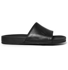 Mr. Hare Leather Slides