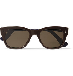 Elton John Aids Foundation + Cutler & Gross D-Frame Two-Tone Acetate Sunglasses