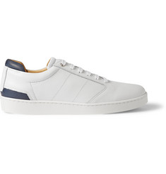 WANT Les Essentiels de la Vie Lennon Leather and Mesh Sneakers