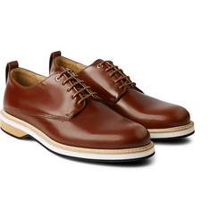 WANT Les Essentiels de la Vie Montoro Polished-Leather Derby Shoes