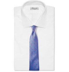 Richard James Dotted Iridescent Silk Tie