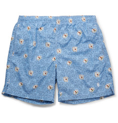 Richard James Mid-Length Printed Swim Shorts