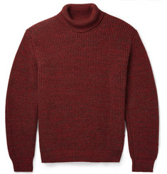 Richard James Ribbed-Knit Wool Rollneck Sweater