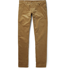 Richard James Slim-Fit Cotton Corduroy Trousers