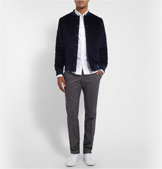 Richard James Cotton-Corduroy Bomber Jacket
