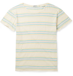 Levi's Vintage Clothing 1930s Meadows Striped Cotton and Linen-Blend T-Shirt