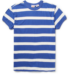 Levi's Vintage Clothing 1970s Striped Washed Cotton-Jersey T-Shirt