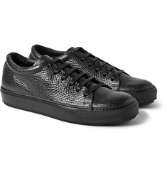 Acne Studios Adrian Grained-Leather Sneakers