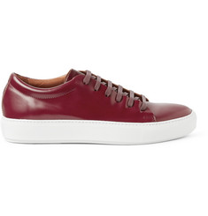Acne Studios Adrian Polished-Leather Sneakers