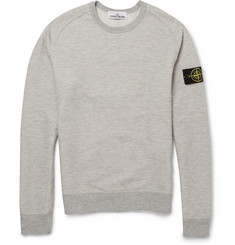 Stone Island Cotton-Blend Sweatshirt