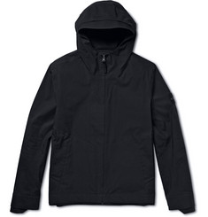 Stone Island Hooded Coated Cotton Jacket