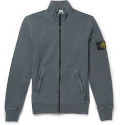 Stone Island Cotton-Jersey Sweater
