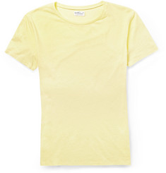 Gant Rugger Slubbed Cotton and Linen-Blend Jersey T-Shirt