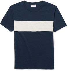 Gant Rugger Striped Cotton-Jersey T-Shirt