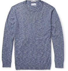 Gant Rugger Marled Crüe Cotton Sweater