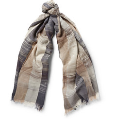 Missoni Striped Modal and Cotton-Blend Scarf