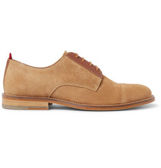 Oliver Spencer Banbury Suede Derby Shoes