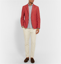 Barena Slim-Fit Cotton-Jacquard Blazer