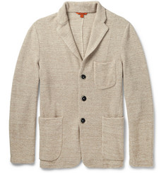 Barena Unstructured Knitted Cotton-Blend Blazer