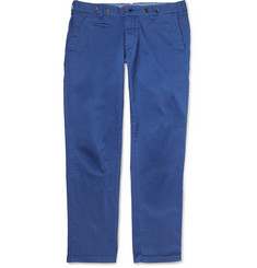 Barena Slim-Fit Cotton-Blend Trousers