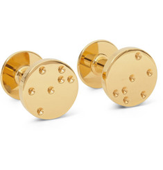 Alice Made This Cecil Gold-Plated Cufflinks