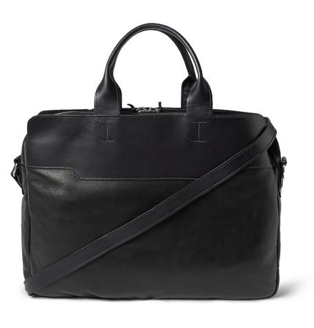 bill amberg explorer leather briefcase mr porter. Black Bedroom Furniture Sets. Home Design Ideas