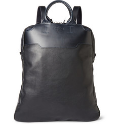 Bill Amberg Lewis Convertible Leather Backpack