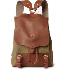Bill Amberg Hunter Nubuck Backpack