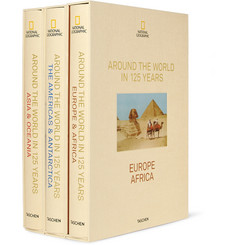 Taschen National Geographic Around The World In 125 Years set of 3 books