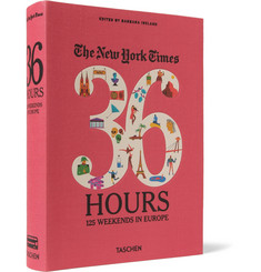 Taschen - The New York Times 36 Hours: 125 Weekends In Europe Cloth-Bound Book