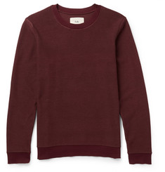 Folk Contrast-Knit Cotton Sweater