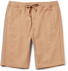 Folk Cotton-Twill Shorts