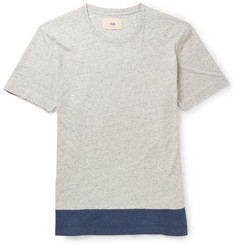 Folk Panelled Cotton T-Shirt