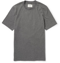 Folk Poplin-Panelled Cotton-Jersey T-Shirt