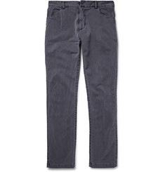 Private White V.C. Slim-Fit Washed Cotton-Twill Trousers