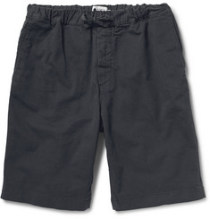 NN.07 Woven Cotton-Blend Shorts