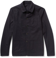 NN.07 Matthew Jacquard Cotton-Gabardine Suit Jacket