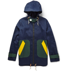 Band of Outsiders + Mackintosh Bonded-Cotton Raincoat