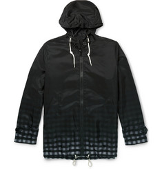 Band of Outsiders + Mackintosh Dégradé-Check Hooded Jacket
