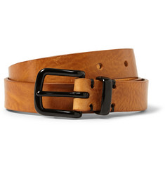 Oliver Spencer Tan 2.5cm Coniston Leather Belt