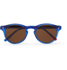 Oliver Spencer Sid Round-Frame Sunglasses