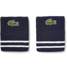 Lacoste Tennis Performance Cotton-Blend Sweatbands