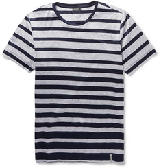 Hanro Striped Cotton-Jersey Pyjama Set
