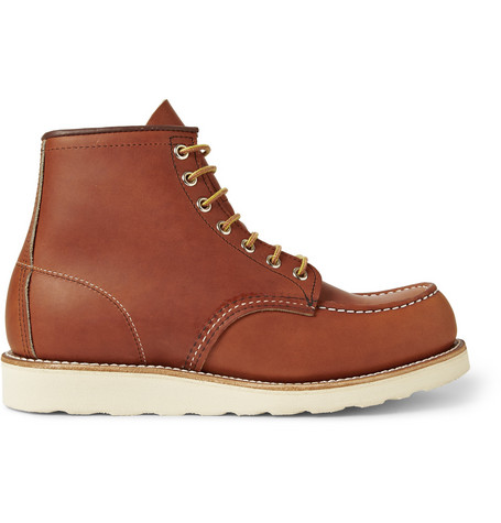 RED WING SHOES 875 Moc Leather Boots - Brown