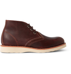 Red Wing Shoes Work Leather Chukka Boots