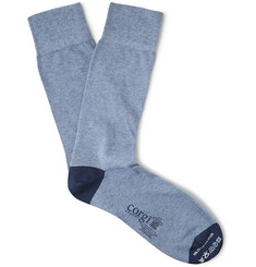 Corgi Cotton-Blend Socks