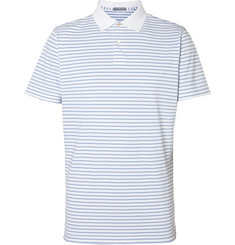 Peter Millar Muligan Striped Stretch-Piqué Golf Shirt