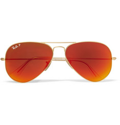 Ray-Ban Polarised Aviator Sunglasses