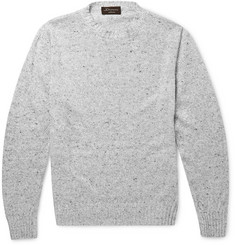 Doriani Linen and Silk-Blend Sweater