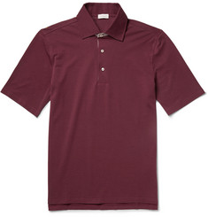 Doriani Cotton-Piqué Polo Shirt